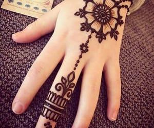 henna, mehndi, and حناء image