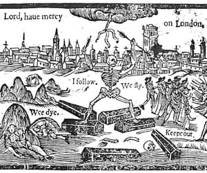 death, god, and london image