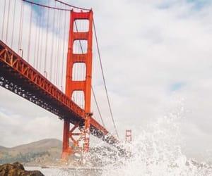 adventure, bridge, and travel image