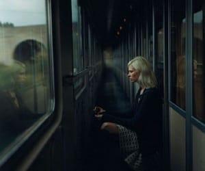 train, dark, and aesthetic image