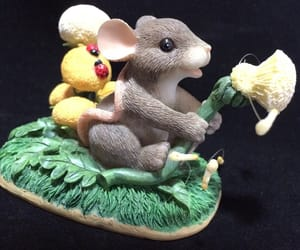 animals, spring home decor, and mouse figurine image