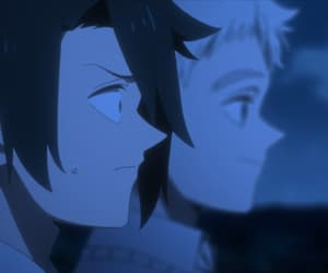 anime, the promised neverland, and gif image