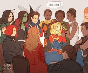 disney, girls, and captain marvel image