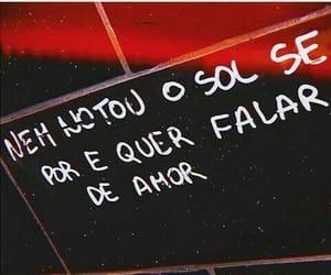 frase, português, and por-do-sol image