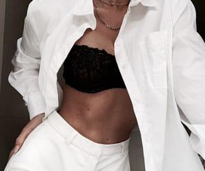 fashion, style, and black bra image