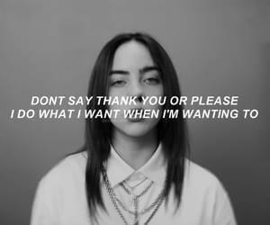 Lyrics and billie eilish image