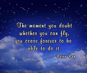 believe, blue, and book quotes image