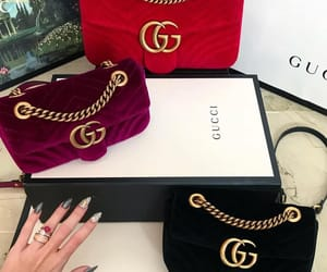 bags, gucci, and yas image
