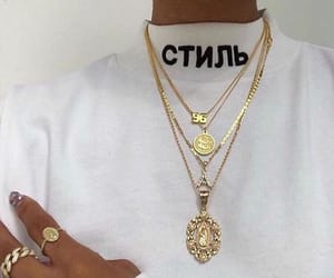 fashion, aesthetic, and gold image