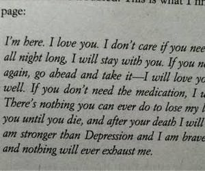 love, quotes, and depression image
