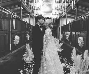 love, wedding, and black and white image