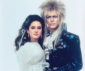 david bowie, labyrinth, and 80s image