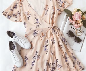 dress, outfit, and summer image