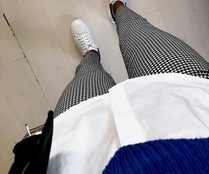 blue, outfit, and style image