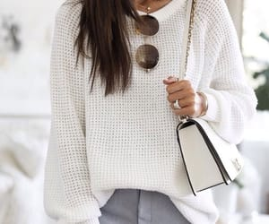 fashion, spring, and sweater image