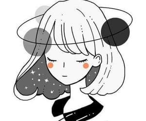 anime, cool, and illustration girl image