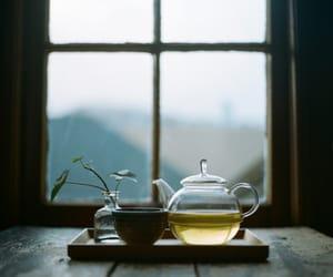 tea, window, and home image