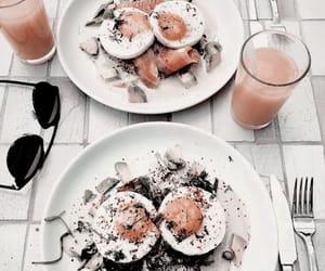 food, breakfast, and juice image