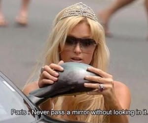 blonde, paris hilton, and crown image
