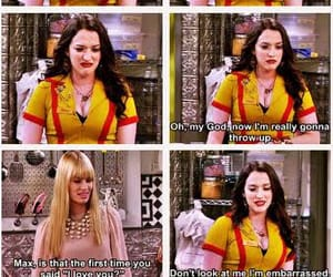 I Love You, max black, and two broke girls image