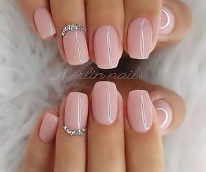nails, girl, and shine image