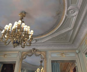 ceiling, chandelier, and interior design image