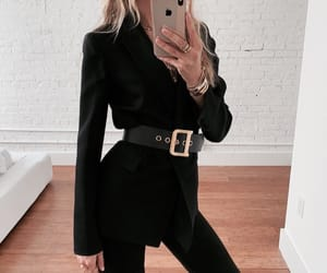 fashion, mirror, and outfit image