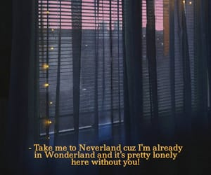lonely, neverland, and pink image