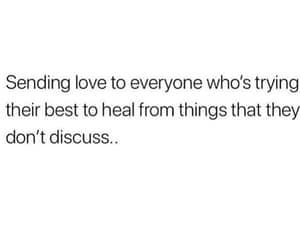 heal, text, and quote image