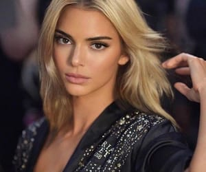 blonde, Kendall, and model image