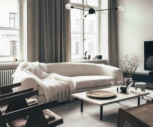 apartment, beautiful, and couch image