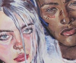 music, xxx, and billieeilish image