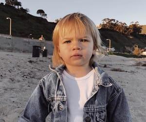 baby, child, and beach image