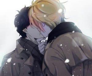 anime, last kiss, and bl image