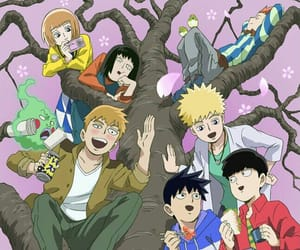 anime, manga, and mob image