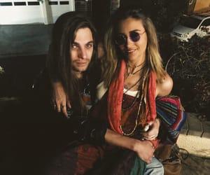 hippie, overalls, and paris jackson image