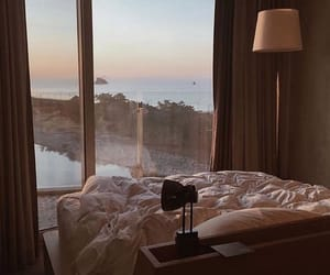 room, view, and bed image