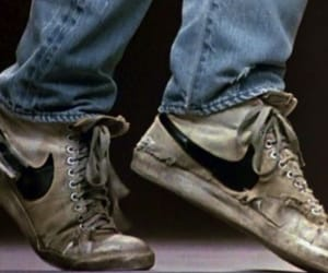 footloose, nike, and dance image