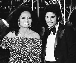 black and white, Diana Ross, and iconic image