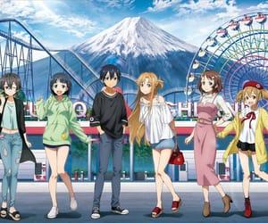 anime, asuna, and sword art online image