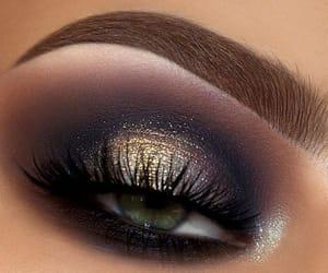 makeup, eyeshadow, and green image