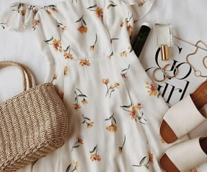 dress, summer, and fashion image