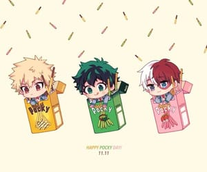 kacchan, shouto, and midoriya image