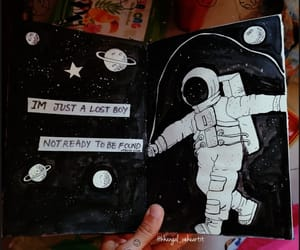 aesthetic, art, and art journal image