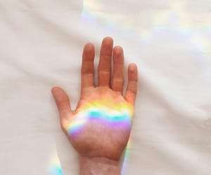 rainbow, aesthetic, and colors image