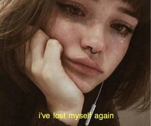anxiety, broken, and cry image