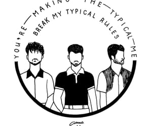 drawing, jonas brothers, and sketch image