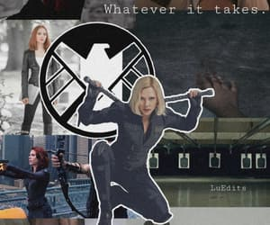 Avengers, black widow, and end image