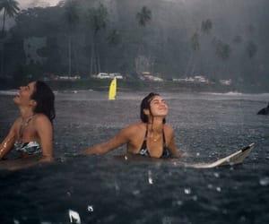 happy, photo, and rain image