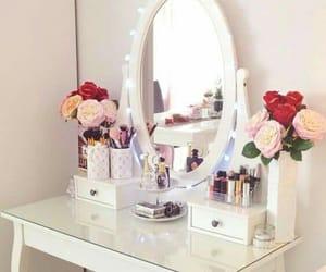 roses, design, and makeup image